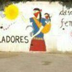 El mural ha estat pintat al pàrquing del carrer Major // CUP