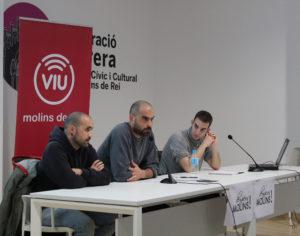 Llonch i Sorolla han explicat la seva experiència a la PAH Sabadell // Marta Pedrola