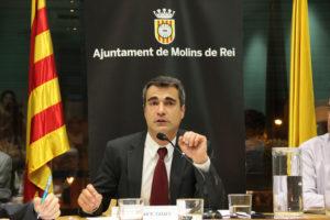 Joan Ramon Casals (CiU) és el nou alcalde de Molins de Rei //  Jordi Julià