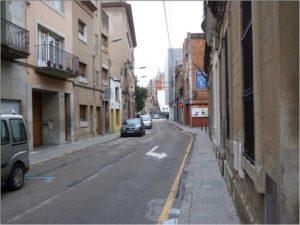 El tram entre el carrer Molí i el carrer Boters serà el primer en ser reformat // Ajuntament de Molins de Rei