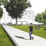El Pati de Palau es convertirà en una gran plaça verda