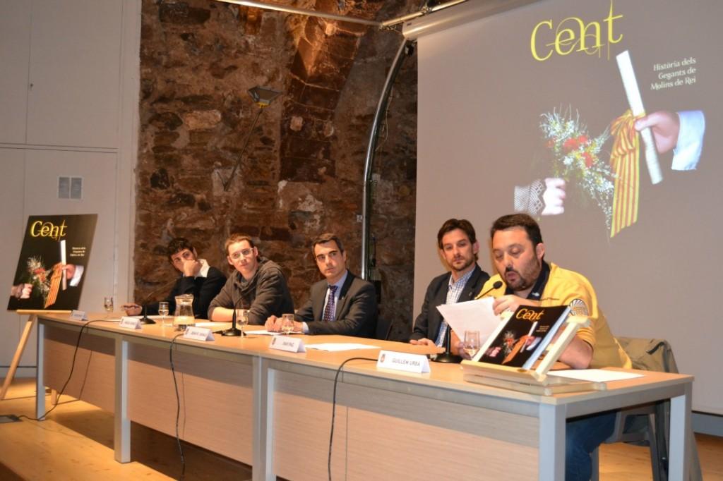 D'esquerra a dreta: Ricard Vinyets, Miquel Burgés, Joan Ramon Casals, Xavi Paz i Guillem Urbà // Elisenda Colell