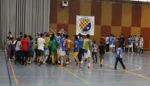 Jugadors i afició celebrant el títol de lliga segons després d'acabar el partit // Marta Pedrola