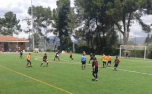 El Molins va presentar un equip molt jove // Adrià Casaín