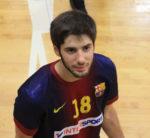 Amigó és una de les promeses de l'handbol català // fcbarcelona.com