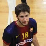 El molinenc Joan Amigó guanya la Divisió d'Honor Plata d'handbol amb el Barça