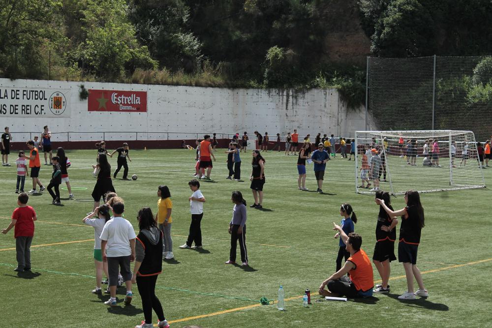 El foment de l'esport forma part de l'oferta educativa del centre // Iris Miquel