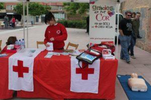 La Creu Roja era una de les entitats participants a la Mostra // David Guerrero