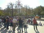 El parc Pont de la Cadena va reunir a prop de 400 persones per escoltar a Teresa Forcades // Sergi Conde