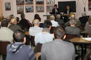 La trobada al barri del Canal va ser la que més públic va aplegar // Ajuntament de Molins de Rei