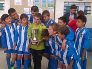 L'Aleví B va guanyar la final a l'aleví A de l'Atlètic Incresa// Laura Fernández