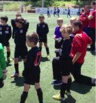 L'Atlètic de Madrid va ser una de les atraccions del torneig // Molins de Rei CF