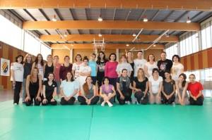 28 dones van assistir al III Taller de Defensa Personal Femenina // CE Molins de Rei