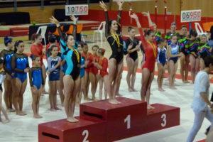 Massana en el podi del Campionat de Catalunya // Club Gimnàs Molins de Rei