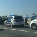 Detinguts quatre joves que circulaven per l'autovia apuntant amb armes de foc simulades als conductors