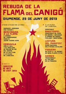 flama canigó 2013