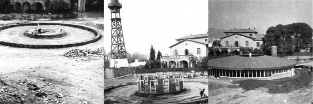 L'edifici es va construir el 1968, però no va ser fins el 1970 que va entrar en funcionament // AMPA El Rodó