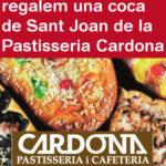 Fes-te soci de Viu Molins de Rei i et regalem una coca de la Pastisseria Cardona