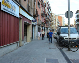 El robatori s'ha produït en un portal d'avinguda Barcelona // Marta Pedrola