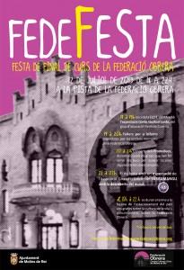Cartell Fede Festa 2013