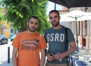 Abdelkamal i AbdelKader Bolkaddid, secretari i president, respectivament, de la CIMdR // Jose Polo