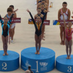 Marta Gil, medalla de plata en salt al Campionat d'Espanya de Gimnàstica