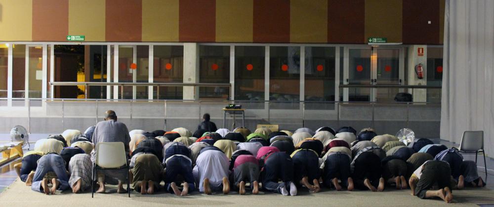 La Comunitat Islàmica segueix lluitant per tenir un local propi // David Guerrero