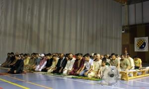 La Comunitat Islàmica lloga el Poliesportiu de la Sínia per fer el Ramadà // David Guerrero