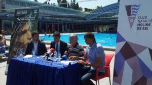 Paz, Casals, Mas i Pedrerol presentant la col·laboració amb Barcelona 2013 // Jose Polo