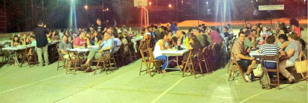 El sopar va aplegar a més de 130 persones // Jose Polo