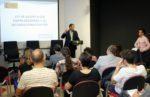 Social Talent Work Center va ser el primer lloc on es realitzava una xerrada al voltant d'aquesta llei per part de CTAC // David Guerrero