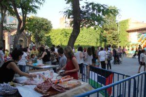 La Festa pel Sàhara va rebre moltes famílies, però només 3 van acollir infants // Jordi Julià