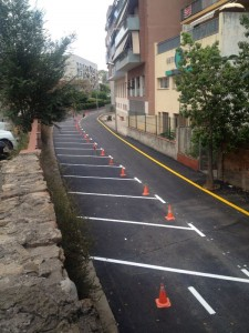 Algunes obres, com les carrer Bruc, ja estan finalitzades