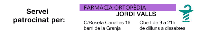 Servei Patrocinat Farmacia Valls