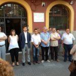 Molins de Rei es solidaritza amb les víctimes de l'accident de Santiago amb un minut de silenci