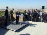 L'alcalde de Viladecans, Carles Ruiz, i el conseller de Territori, Santi Vila, van presentar el projecte el passat mes d'abril // David Guerrero