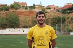Capella és un dels davanters més determinants del grup vuitè de Tercera Catalana // Jose Polo