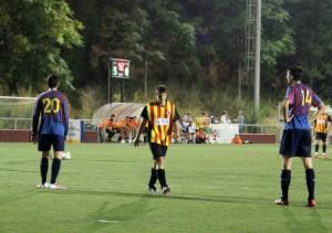 Chufo és un dels joves que lluita per la titularitat en atac // Jose Polo