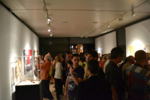 Els assistents van omplir la Sala d'Exposicions de Ca'n Ametller. // Elisenda Colell