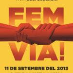 L'Ajuntament dóna suport polític a la Via Catalana cap a la Independència