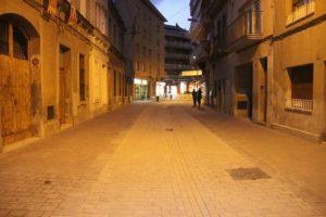 Entre el carrer dels Boters i el carrer del Molí està obert als vianants però no als vehicles // Jordi Julià