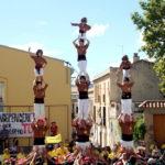Els Matossers han donat un cop d'efecte amb un vano de 5 als pilars de comiat // Jordi Julià