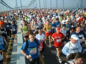 La Marató de Nova York és un gran fenomen social que va més enllà de l'esport // Martineric