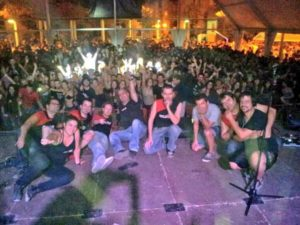 El grup Mitjanit va protagonitzar la nit d'Empalmada // Mitjanit