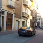 La CUP proposa que tot el carrer Rafael Casanova sigui peatonal