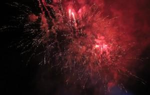 La festa s'ha tancat amb un castell de focs a càrrec dels Gegants // Jose Polo