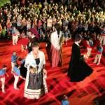 Els gegants més emblemàtics de Catalunya trepitgen Molins de Rei pel centenari de la colla gegantera
