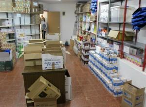 El magatzem d'aliments està normalment ple // Arxiu