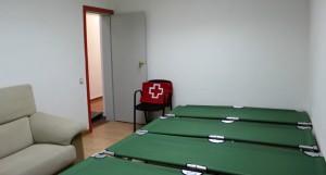 Tot i que encara no s'ha utilitzat, hi ha un servei dormitori temporal per casos d'emergència // Arxiu