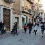 El remodelat carrer Rafael Casanova entra en funcionament amb prioritat pels vianants